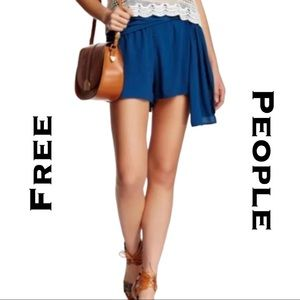 💎NWT💎 Free People Sapphire Flowing Shorts